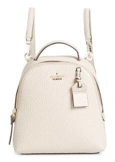 kate spade new york carter street - mini caden leather backpack