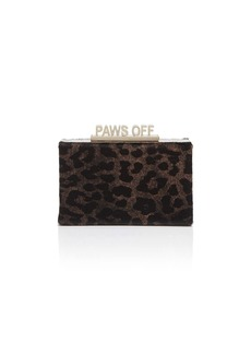 kate spade new york Cats Meow Ravi Calf Hair Clutch