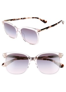 kate spade new york caylin 54mm gradient square sunglasses