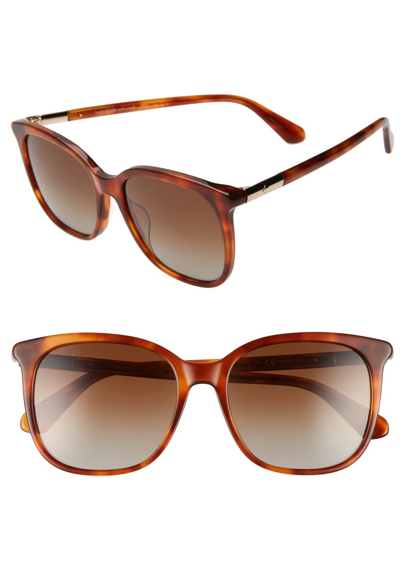 kate spade new york caylin 54mm polarized sunglasses