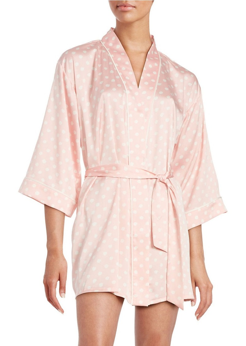 KATE SPADE NEW YORK Charmeuse Short Robe