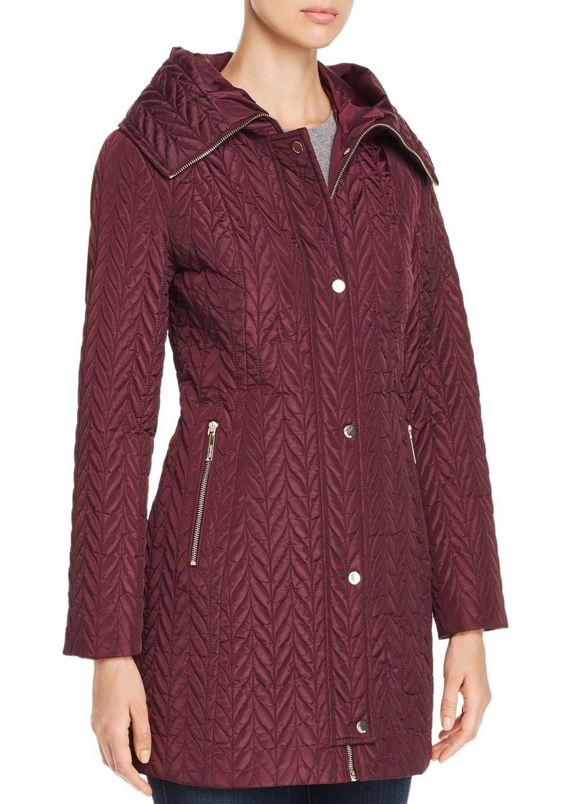 kate spade new york Chevron-Quilted Coat