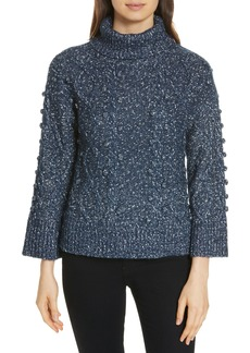 kate spade new york chunky cable sweater