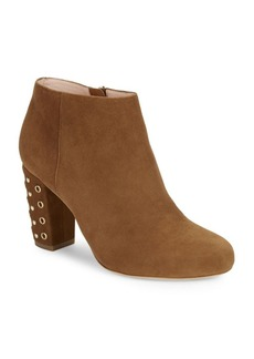 Kate Spade New York Cirra Suede Grommet Ankle Booties