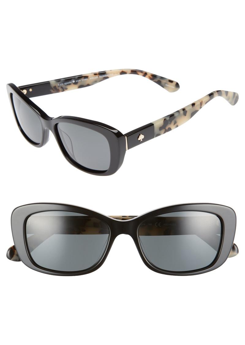 2c3462bff16b0 Kate Spade kate spade new york claretta 53mm polarized sunglasses ...