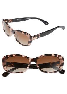 kate spade new york claretta 53mm polarized sunglasses