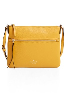 kate spade new york 'cobble hill - gabriele' pebbled leather crossbody bag