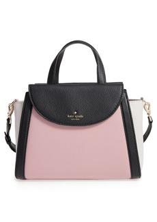kate spade new york cobble hill - medium adrien leather satchel