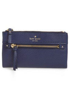 kate spade new york cobble hill – krysta leather wallet