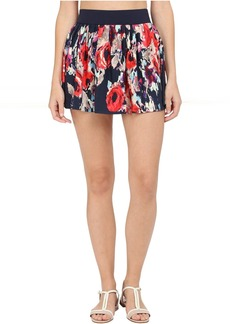 Kate Spade New York Colombe D'Or Pleated Skirt Cover-Up