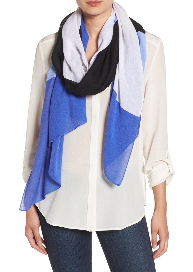 kate spade new york colorblock scarf