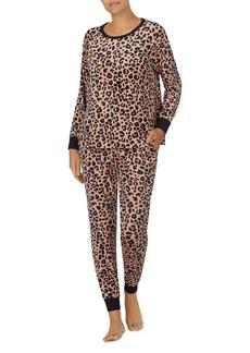 kate spade new york Contrast Piping Pajama Set