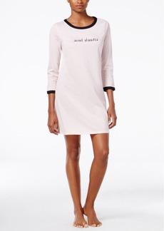 kate spade new york Conversational-Print Sleepshirt