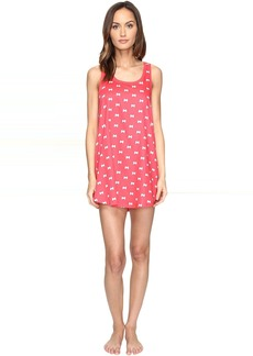 Kate Spade New York Cotton Sateen & Cotton Modal Chemise