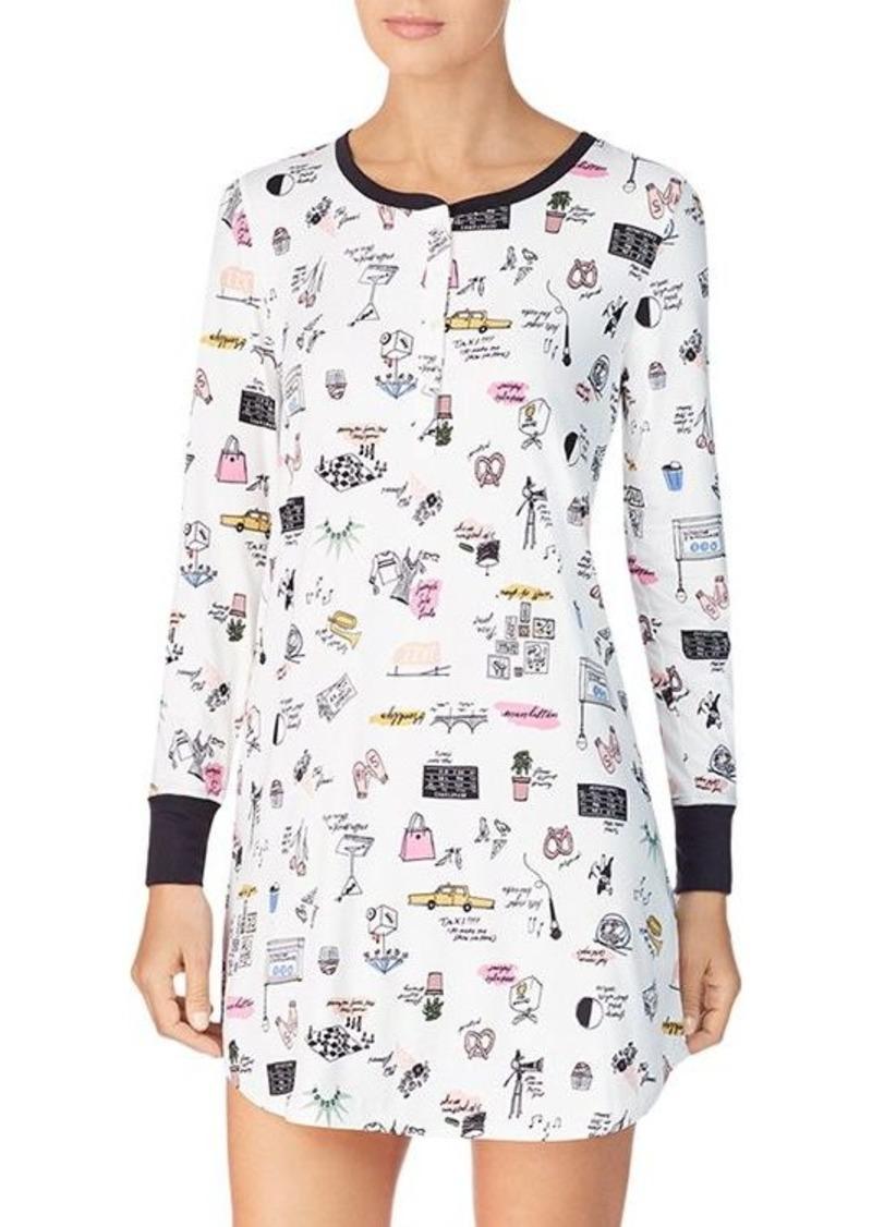 kate spade new york Cozy Sleepshirt - 100% Exclusive