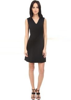Kate Spade Crepe A-Line Dress