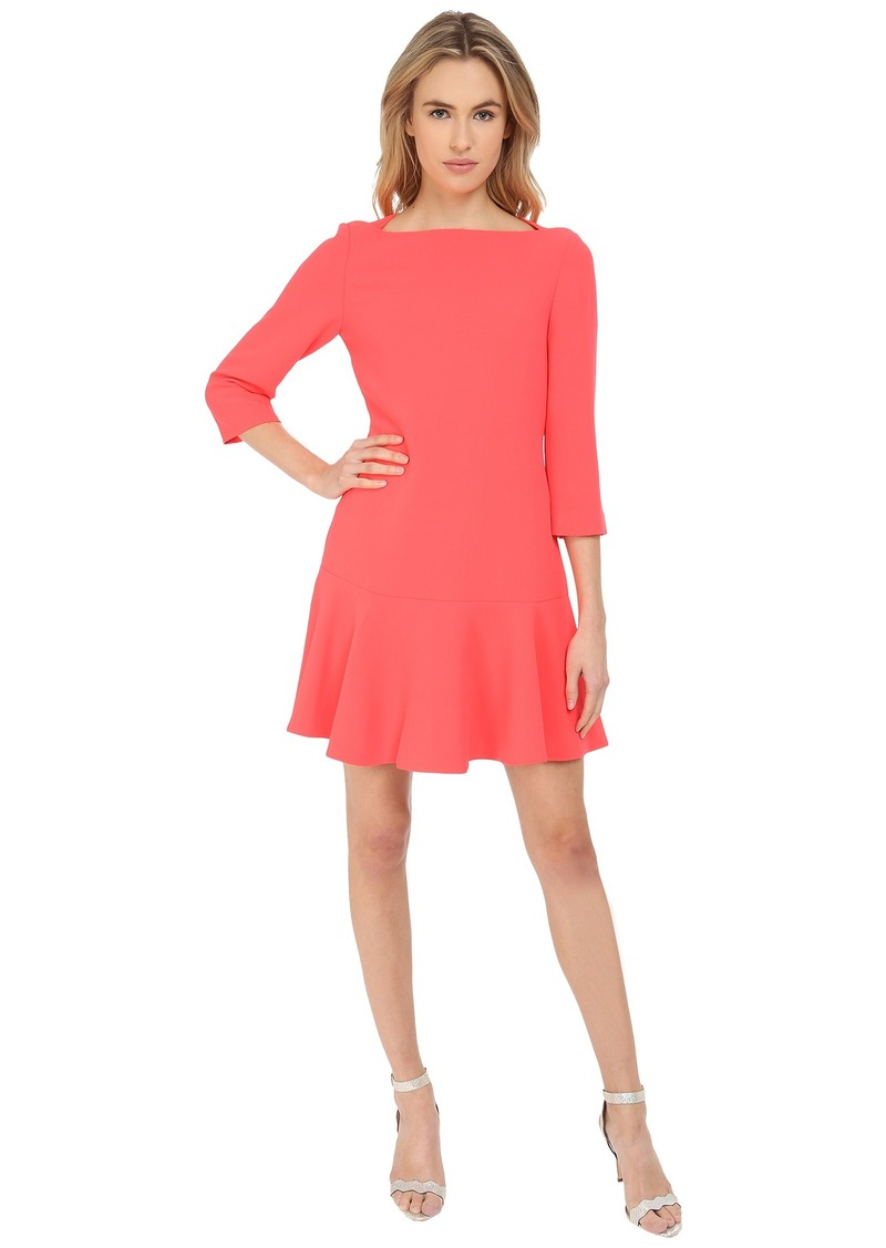 Kate Spade Kate Spade New York Crepe Flounce Dress