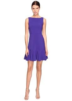 Kate Spade New York Crepe Flounce Dress