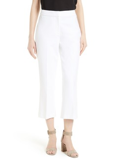 kate spade new york crop flare leg pants