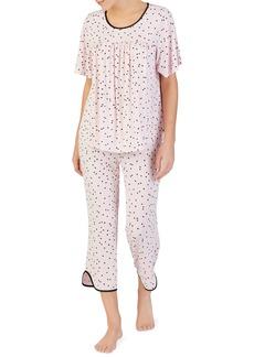 kate spade new york cropped pajamas