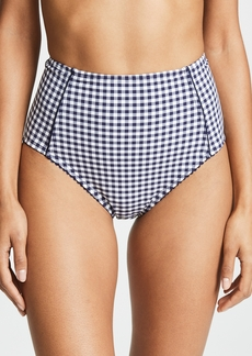Kate Spade New York Crosby Landing High Waist Bikini Bottoms