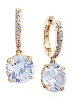 kate spade new york Crystal and Pave Drop Earrings