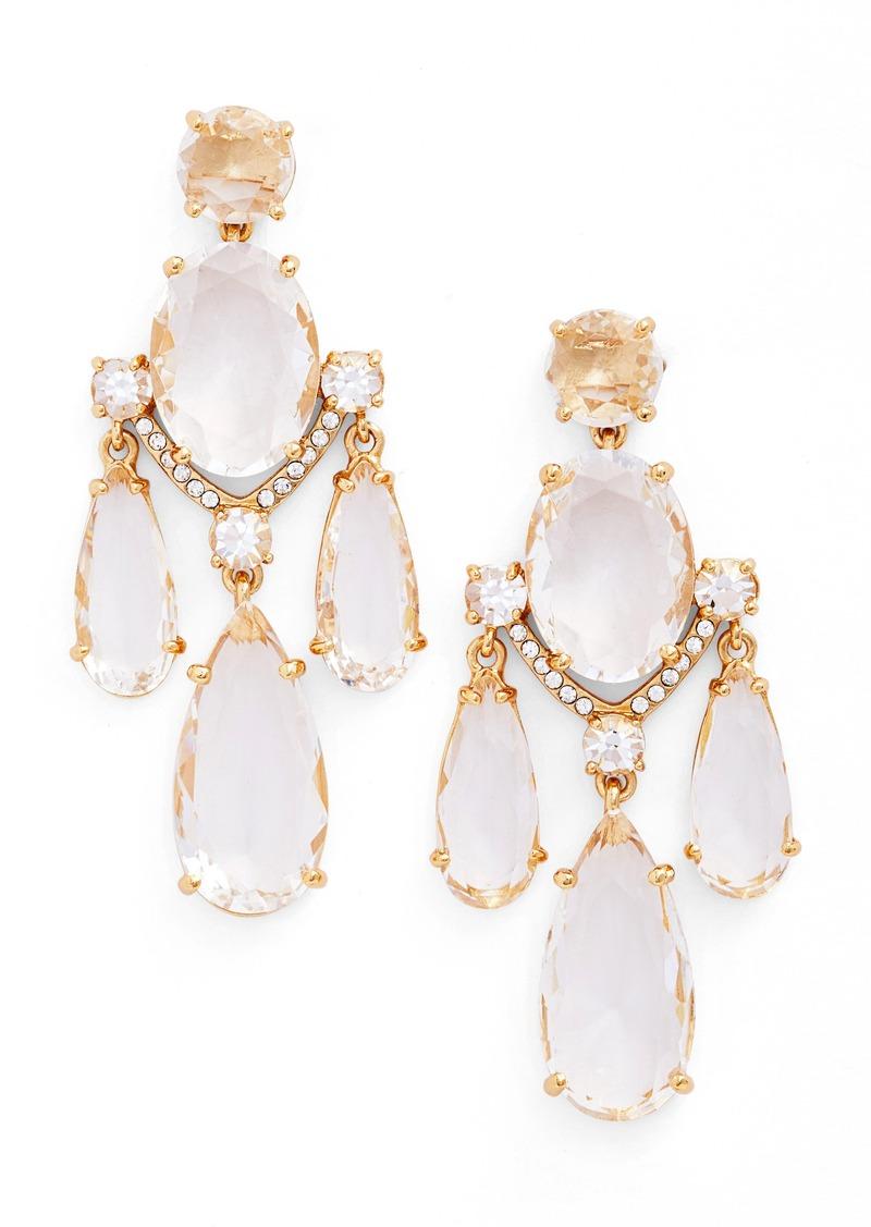 Kate spade kate spade new york crystal chandelier earrings jewelry kate spade new york crystal chandelier earrings mozeypictures Image collections