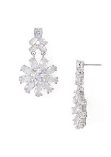 kate spade new york Crystal Drop Earrings
