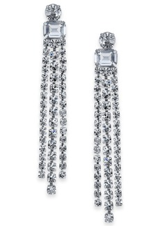 kate spade new york Crystal Fringe Chandelier Earrings