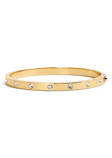 kate spade new york crystal hinge bangle