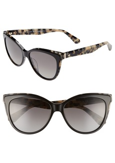 kate spade new york daeshas 56mm cat eye sunglasses