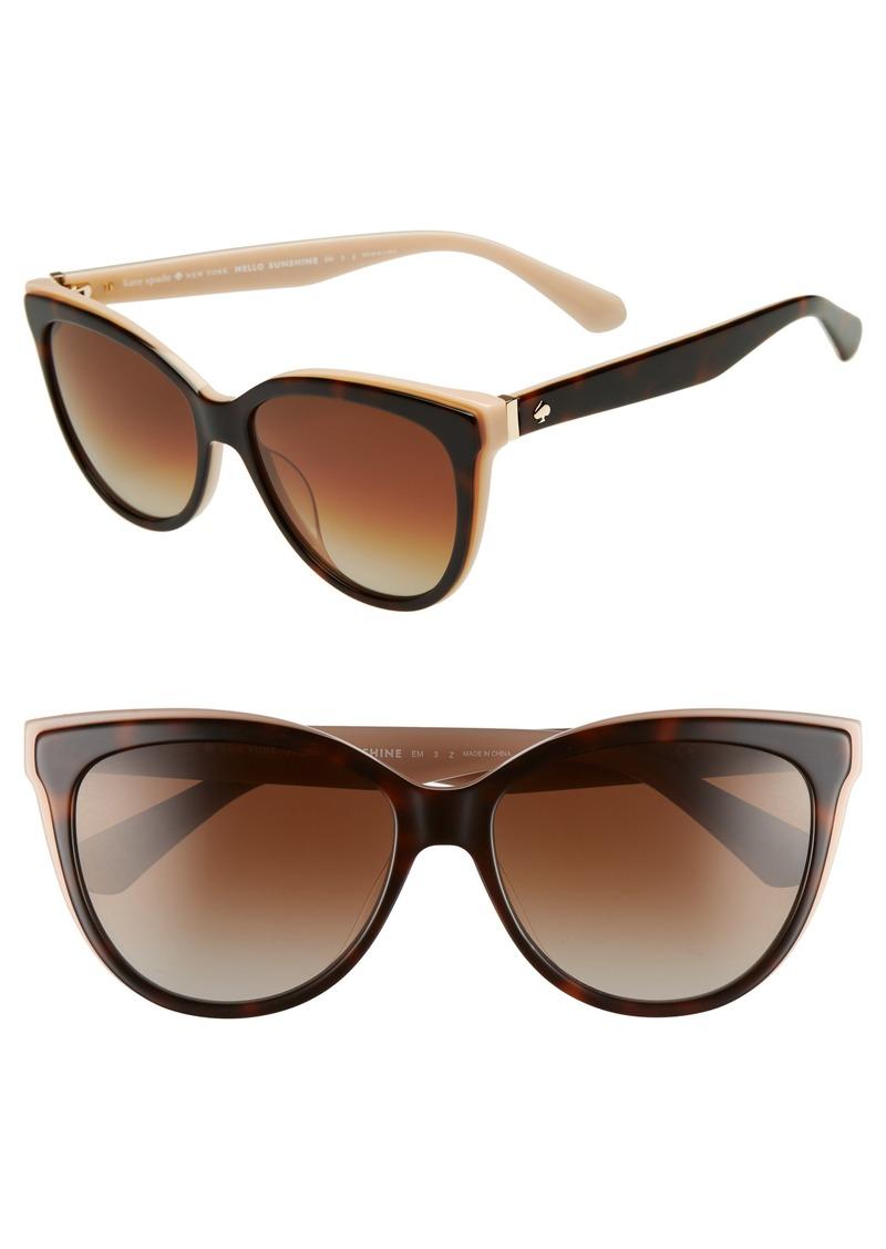 bc1c46a2c9d3 Kate Spade kate spade new york daeshas 56mm cat eye sunglasses ...
