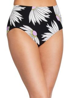 kate spade new york daisy high-waist bikini swim bottom