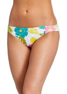 kate spade new york daisy printed hipster bikini bottom