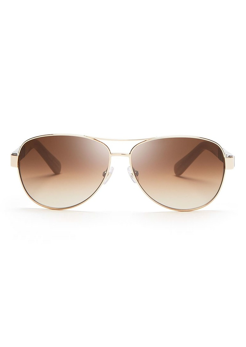 b69c0717e Kate Spade kate spade new york Women's Dalia Aviator Sunglasses ...
