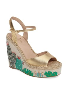 kate spade new york dallas wedge sandal (Women)