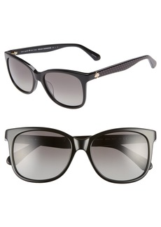 kate spade new york danalyn 54mm polarized sunglasses