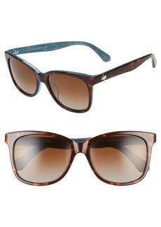kate spade new york danalyn 54mm polarized sunglasses