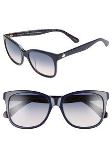 kate spade new york danalyns 54mm sunglasses