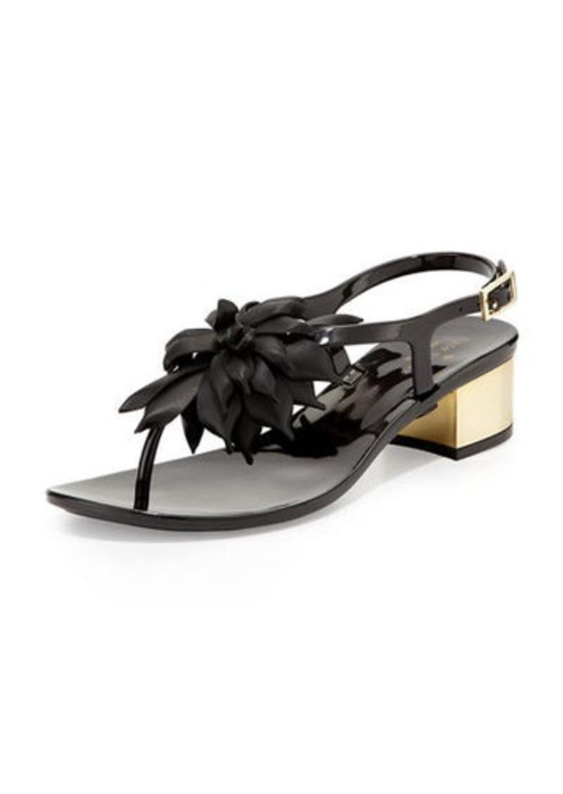 60dcabe76521 Kate Spade kate spade new york davina flower jelly low-heel thong ...