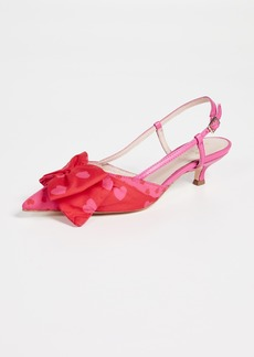 Kate Spade New York Daxton Kitten Heel Slingbacks