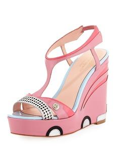 Kate Spade deanna car platform wedge sandal