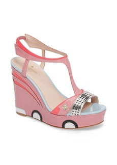 kate spade new york deanna wedge t-strap sandal (Women)