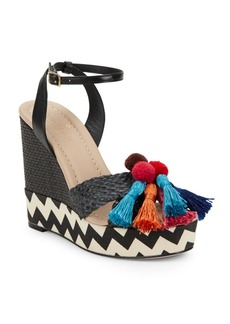 Kate Spade New York Delancey Woven Platform Sandals