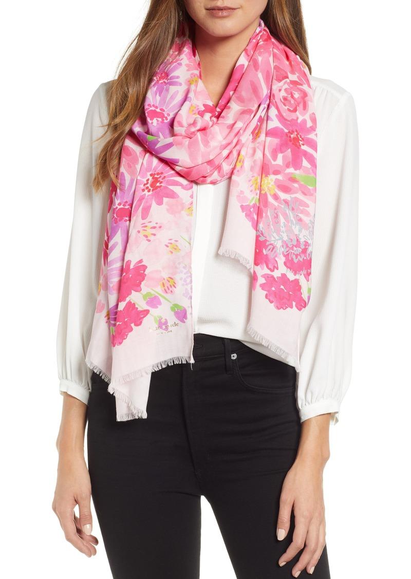 kate spade new york deli flowers scarf