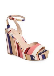 kate spade new york dellie wedge sandal (Women)
