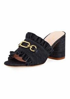 Kate Spade demmi heeled chain mule sandal