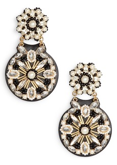 kate spade new york desert garden drop earrings