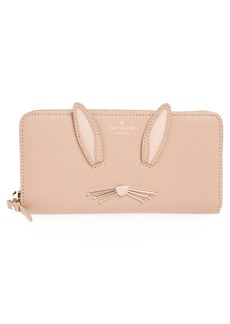 kate spade new york desert muse rabbit lacey wallet