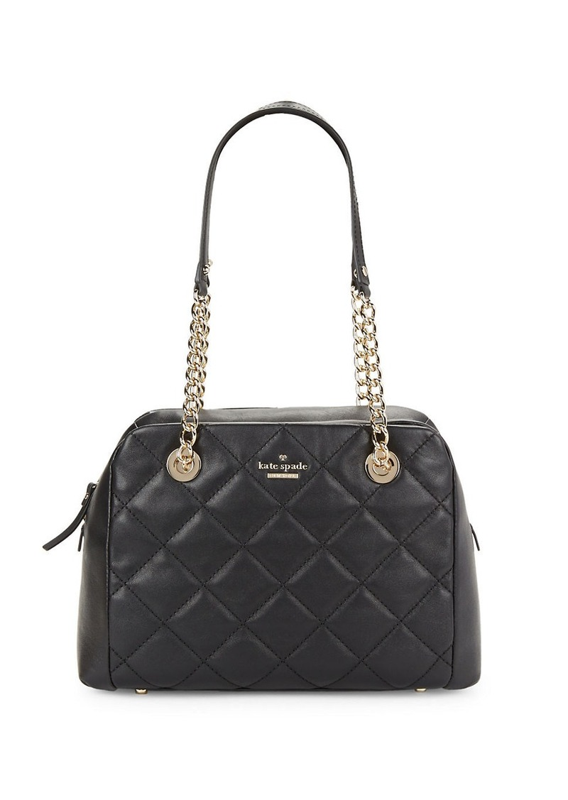 KATE SPADE NEW YORK Dewy Quilted Satchel